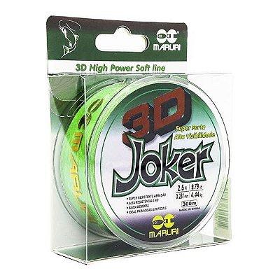 Linha Maruri Joker 3D 300m 0.20mm - Verde