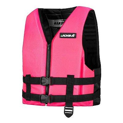 Colete Salva Vidas Jogá Wave 90kg - Rosa