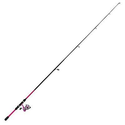 Kit de Pesca Okuma Vibe 1.80m 2P Rosa (Completo)