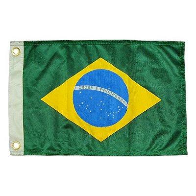 Bandeira do Brasil para Embarcação - 33x47cm