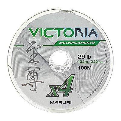 Linha Maruri Victoria 4X 100m Verde - 0.18mm 21lb