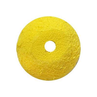 Flutuador Bolinha 10mm Amarelo - 10pçs