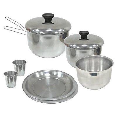 Kit de Panelas NTK Gourmet Alumínio 8pçs