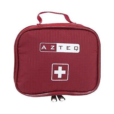 Bolsa para Kit Primeiros Socorros Azteq First Assist - Vermelho