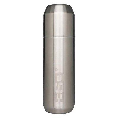 Garrafa Térmica com Copo 360 Degrees 750ml - Prata