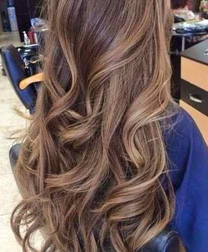 Aplique de cabelos naturais