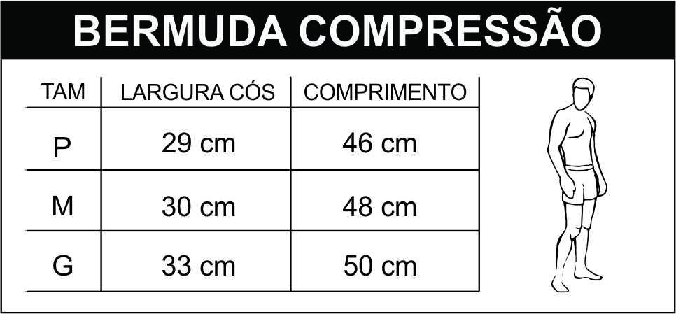 Bermuda de Compressão Masculina - INSANO - Roupas pra quem leva o ... 49e9f768212b7
