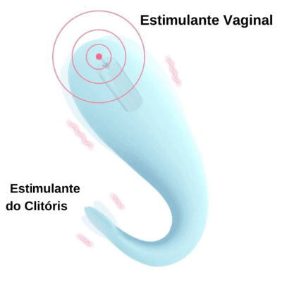 Vibrador Monster Pub Mr Devil é estimulador vaginal e clitoriano