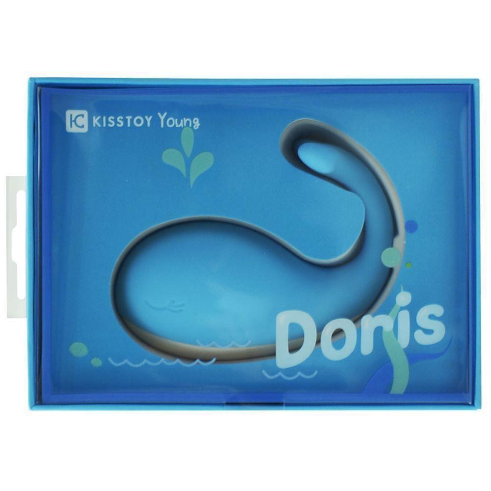 visão frontal do Vibrador Doris Kisstoy Formato de Baleia