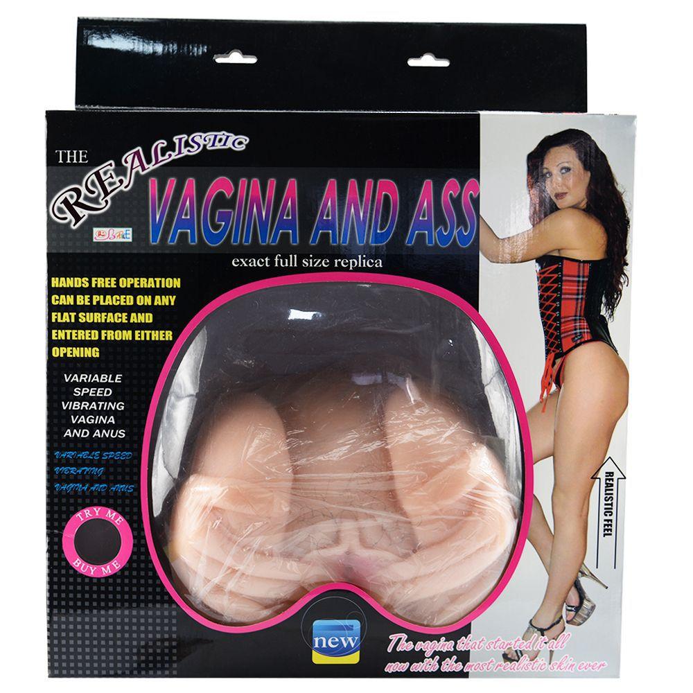 Conjunto do Masturbador Realista Vagina e Anús