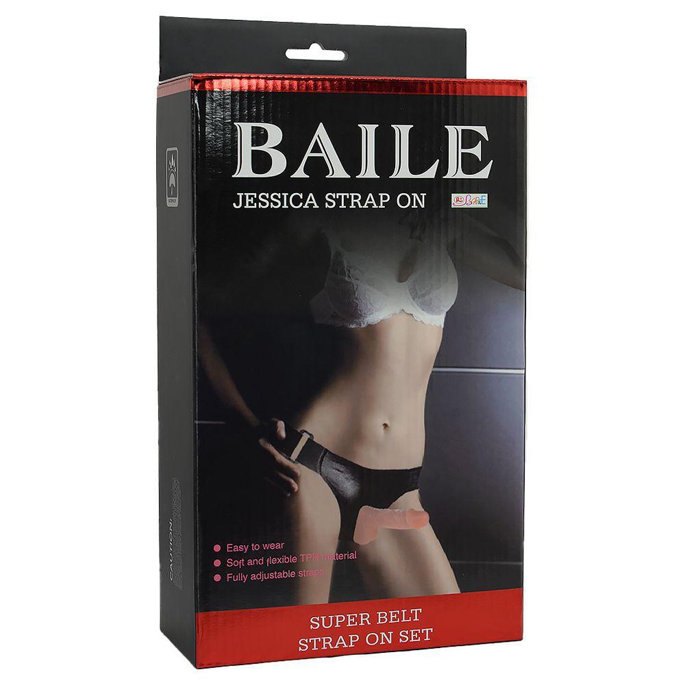 Caixa da Cinta Peniana Strapon Baile Jessica