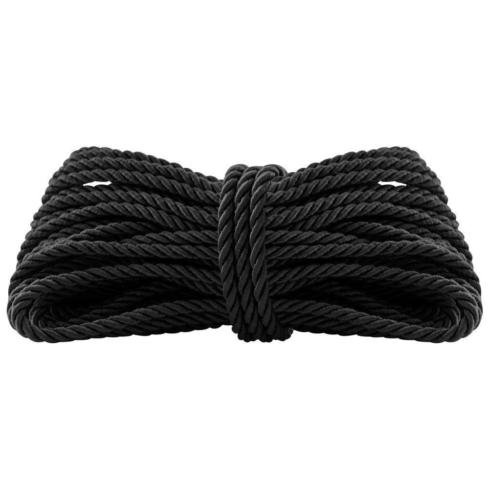 Corda Shibari Erótica Filme 50 Tons na cor preta