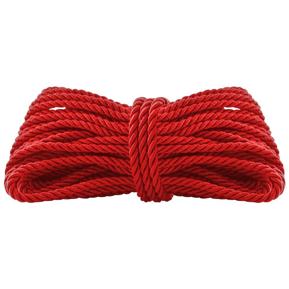 Corda Shibari Erótica Filme 50 Tons na cor vermelha