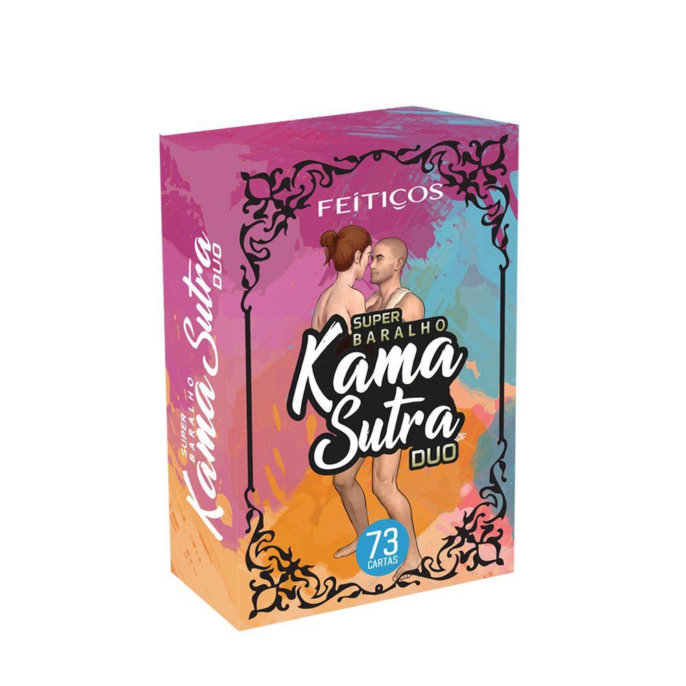 Feitiços Super Baralho Kama Sutra Duo com 73 cartas