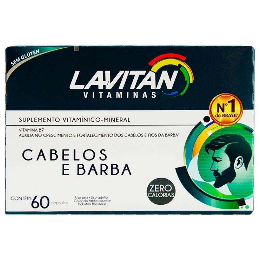Informações sobre o Lavitan Vitaminas Cabelos E Barba 60 Cápsulas - Cimed