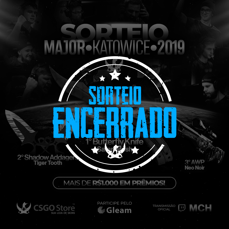 Sorteio Major Katowice 2019