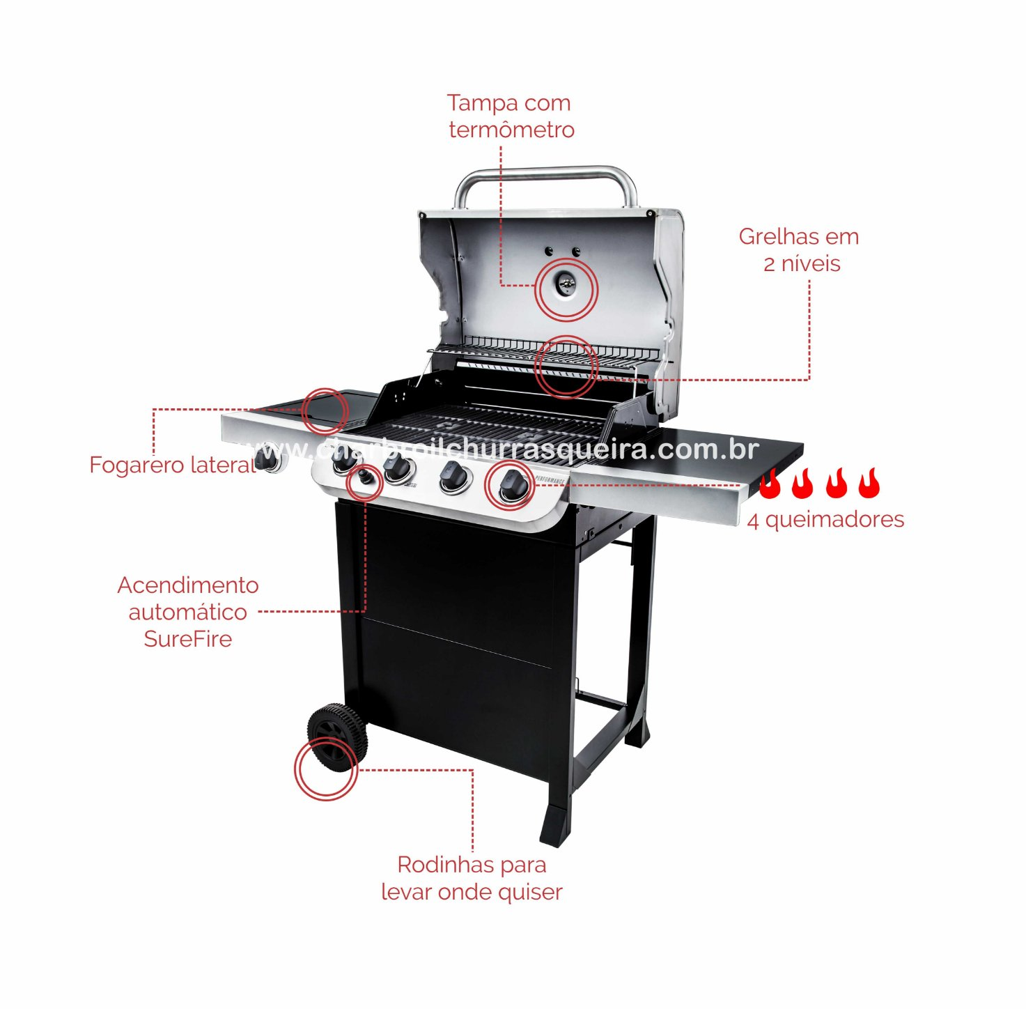 Char-Broil Advantage 4Q