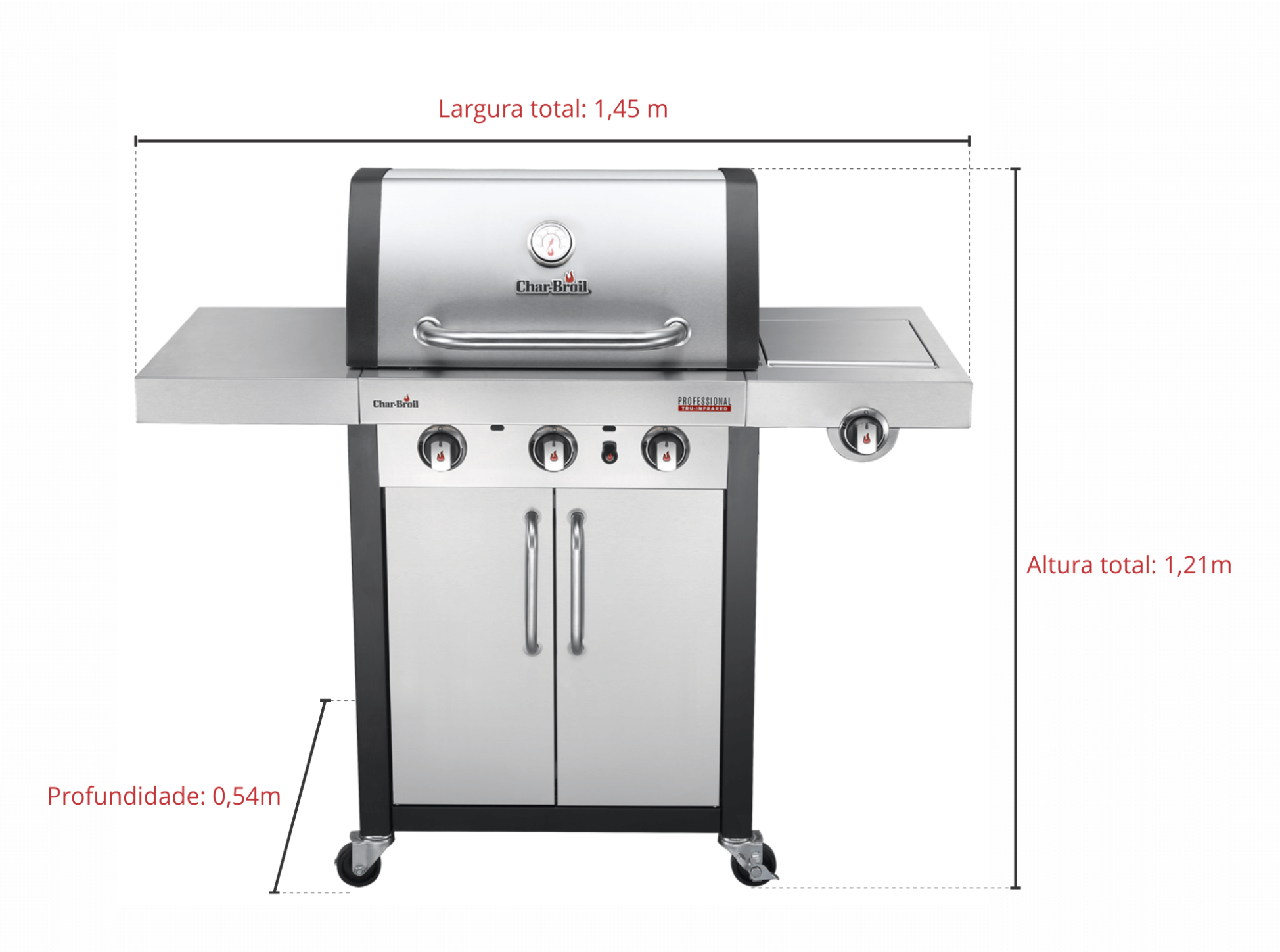 Char-Broil 3000 SS