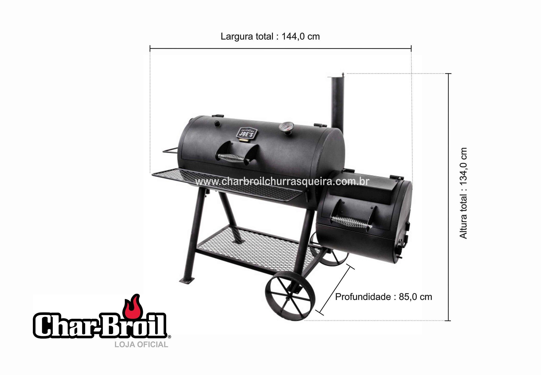 Char-Broil Gas2Coal - Híbrida