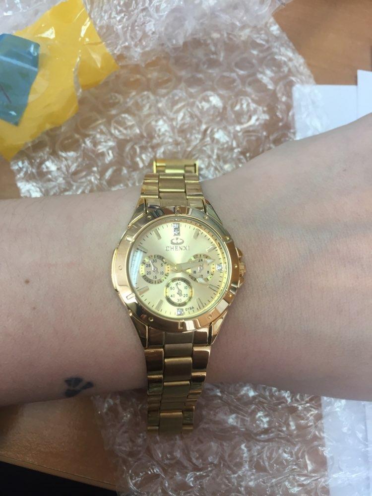 687058f9eba Dali Menina Mulher - Relógio Chenxi Gold - Dali Menina Mulher