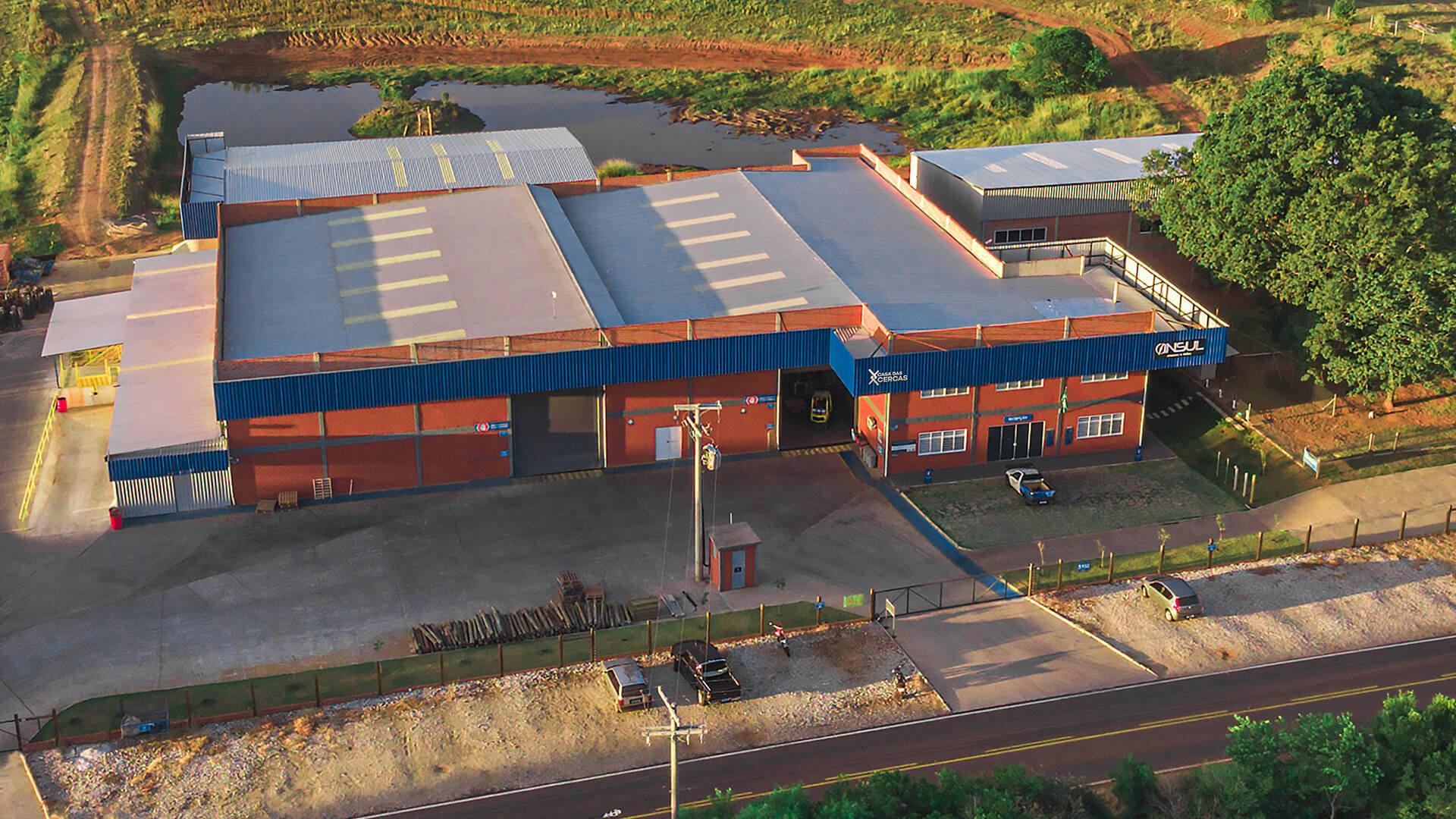 Casa das Cercas foto real Drone