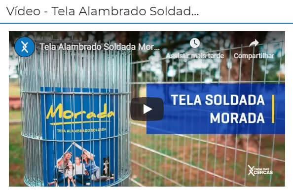 Vídeo Tela Morada