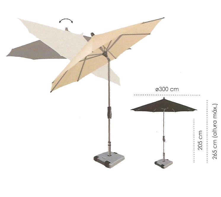 descrição ombrellone albacete