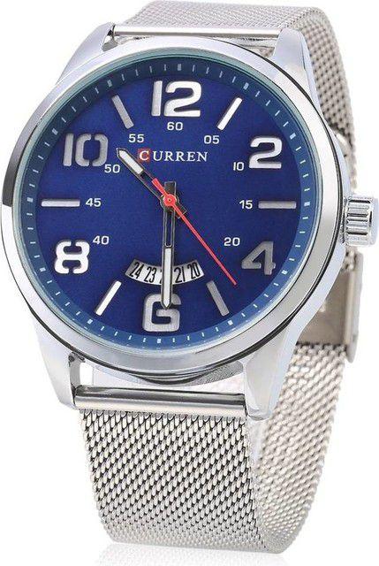 8adf3dd95 Relógio Masculino Curren Analógico 8236 Azul - ShopDesconto - Aqui ...