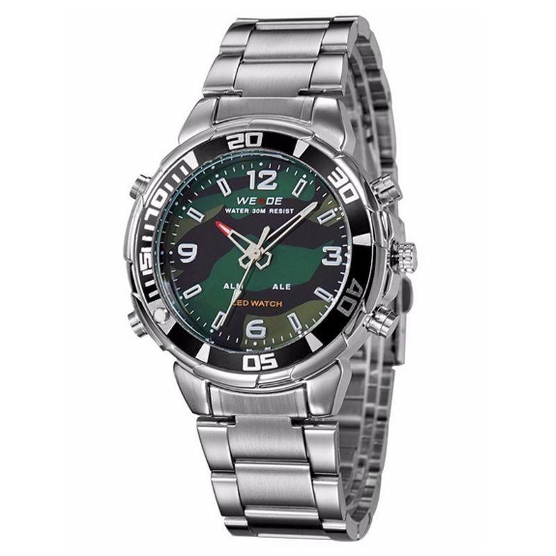 a99a11455a0 Relógio Masculino Weide AnaDigi Esporte WH-843 Camuflado - Imagem 1 ...