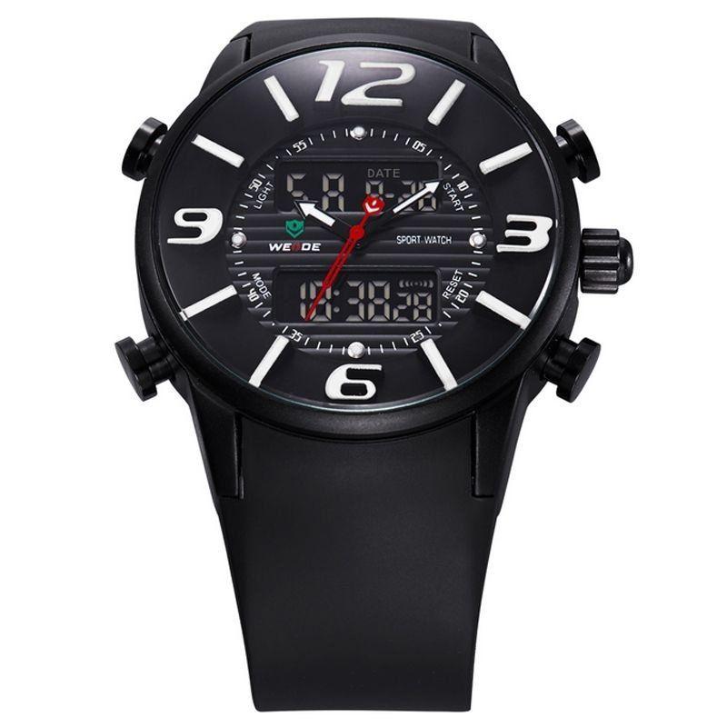 f32d2fbde57 ... Relógio Masculino Weide AnaDigi Esporte WH-3402 Branco - Imagem 2 ...