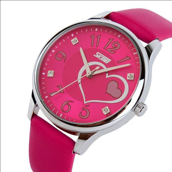 6e985392799 Relógio Feminino Skmei Analógico 9085 Pink - ShopDesconto - Aqui ...