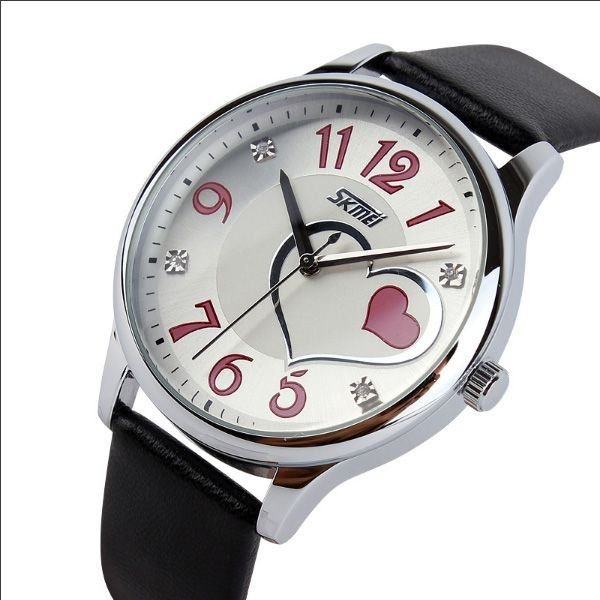 fb1f9dc2c61 Relógio Feminino Skmei Analógico 9085 Preto - ShopDesconto - Aqui ...