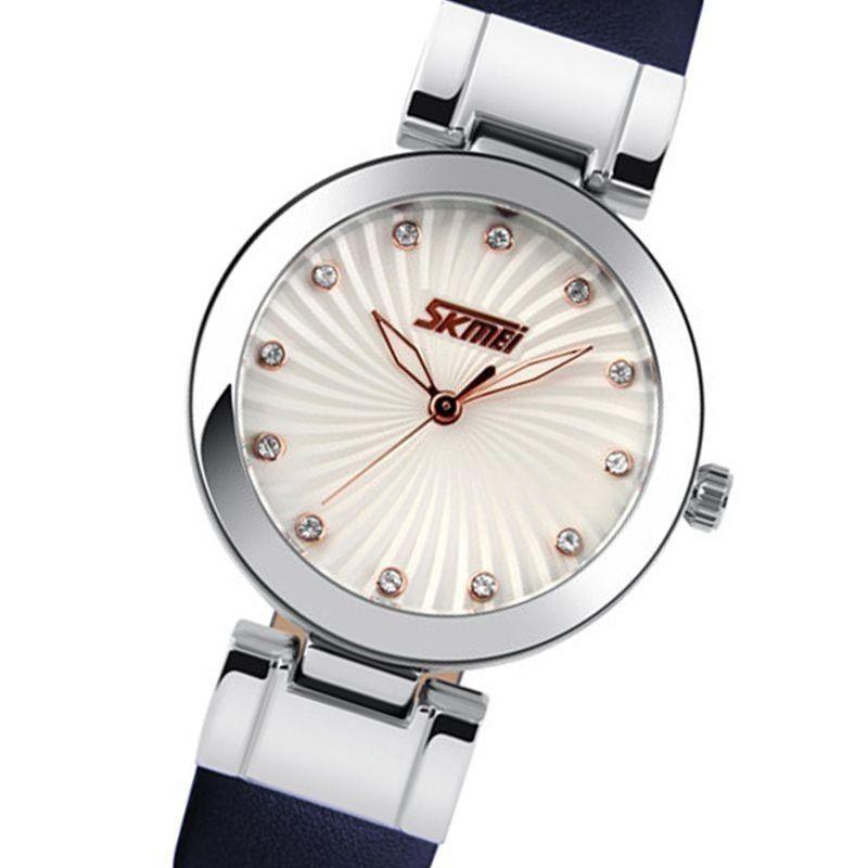 f1ef63b680e Relógio Feminino Skmei Analógico 9086 Azul - ShopDesconto - Aqui ...