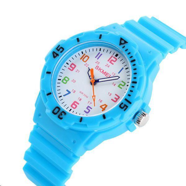 e919988be29 Relógio Infantil Skmei Analógico 1043 Azul Claro - ShopDesconto ...