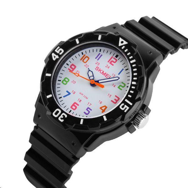 60cf242b977 Relógio Infantil Skmei Analógico 1043 Preto - ShopDesconto - Aqui ...