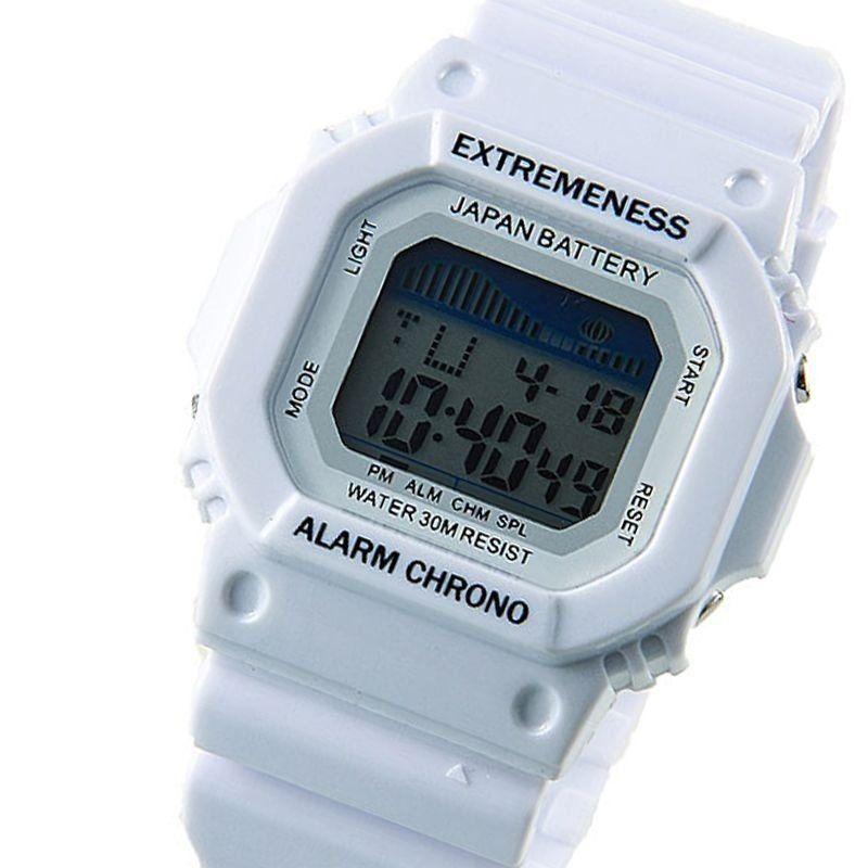 cf10fcba254 Relógio Masculino Skmei Digital 6918 Branco - ShopDesconto - Aqui ...