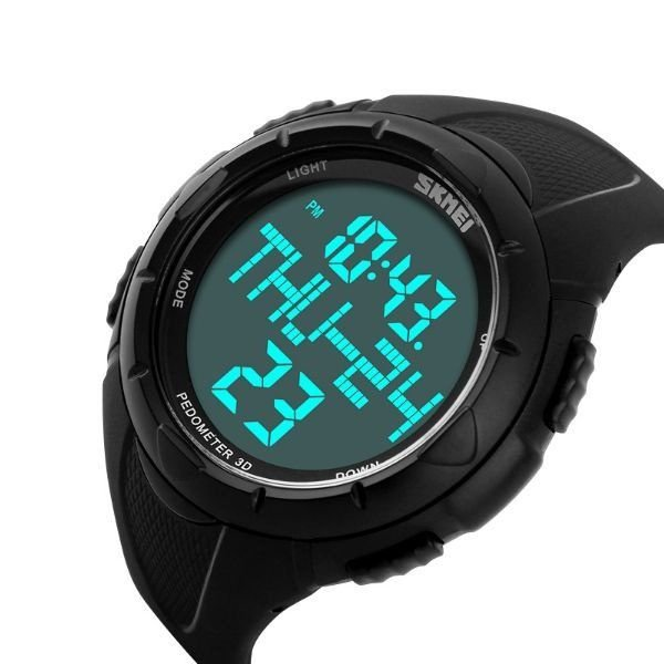0bc484886c1 Relógio Masculino Skmei Digital Pedômetro 1122 Preto - ShopDesconto ...