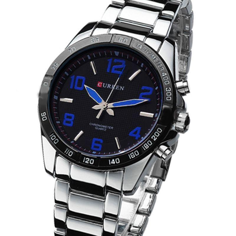 bed57c943 Relógio Curren Analógico 8107 Azul - ShopDesconto - Aqui você sempre ...