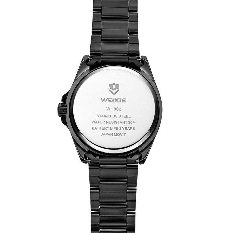 51f55b9c188 Relógio Masculino Weide Analógico WH802 Preto - ShopDesconto - Aqui ...