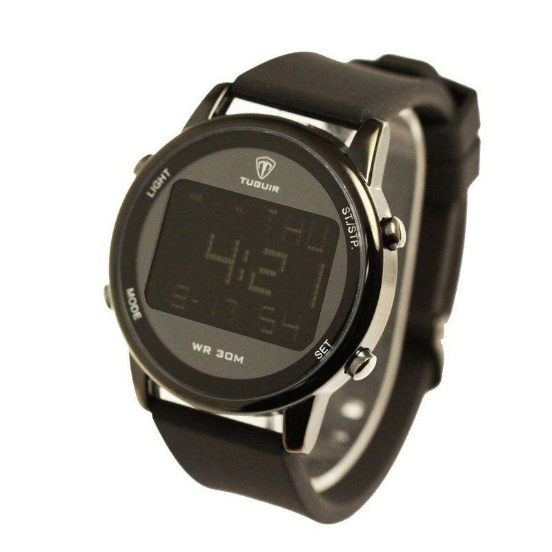 9f87e036df7 Relógio Masculino Tuguir Digital TG7003 Preto - ShopDesconto - Aqui ...
