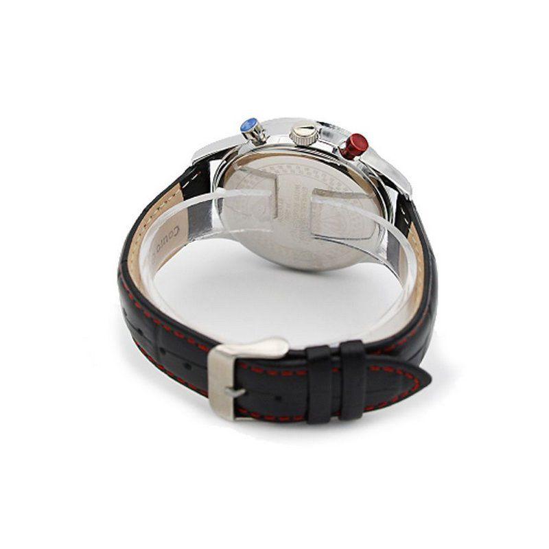 134ed9dfce Relógio Masculino Tuguir Analógico 5006 Preto e Prata - ShopDesconto ...