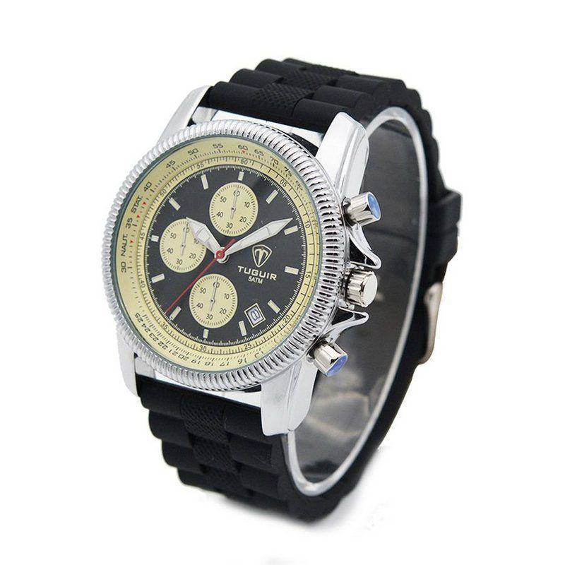 acc02d5994 Relógio Masculino Tuguir Analógico 5027 Preto - ShopDesconto - Aqui ...
