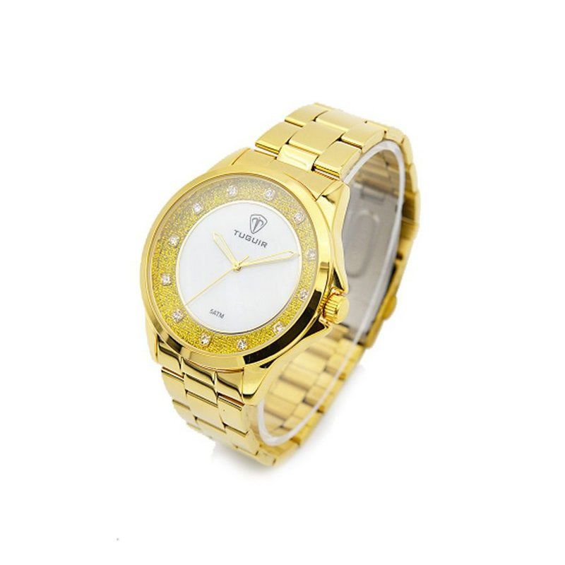 f23af754a81 Relógio Feminino Tuguir Analógico 5025 Dourado - ShopDesconto - Aqui ...