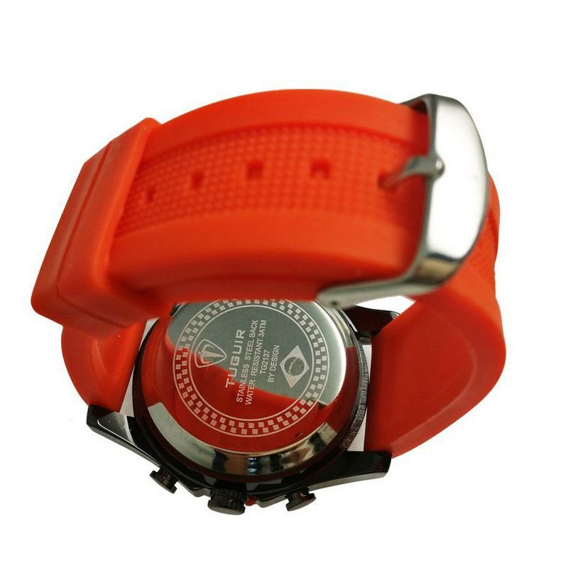 da2a1d451a5 Relógio Masculino Tuguir Anadigi TG2137 Laranja - ShopDesconto ...