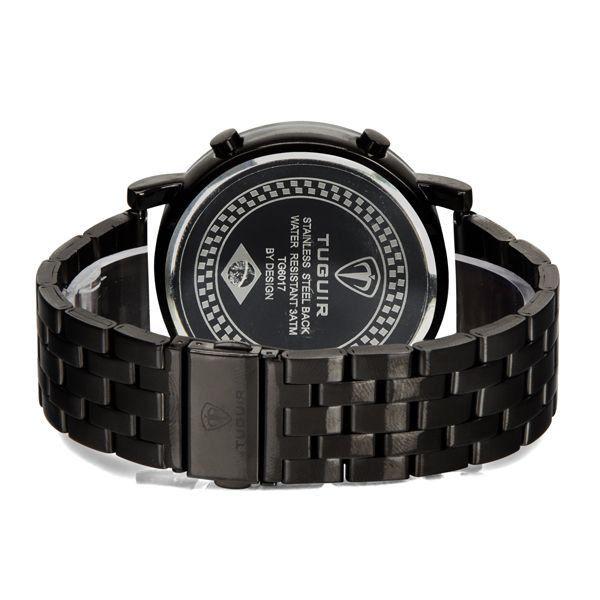 54e3e3295ee Relógio Masculino Tuguir Metal Digital TG6017 Preto - ShopDesconto ...