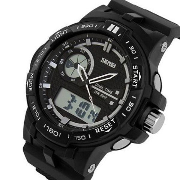 19ec1abfd55 Relógio Masculino Skmei Anadigi 1070 Preto - ShopDesconto - Aqui ...