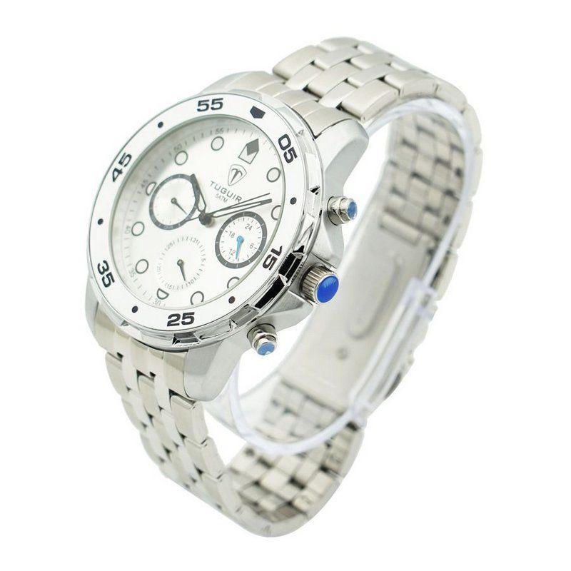 656d294630 Relógio Masculino Tuguir Analógico 5328G Prata - ShopDesconto - Aqui ...