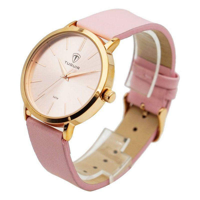 cdcdf0afe82 Relógio Feminino Tuguir Analógico 5441L Rosa - ShopDesconto - Aqui ...