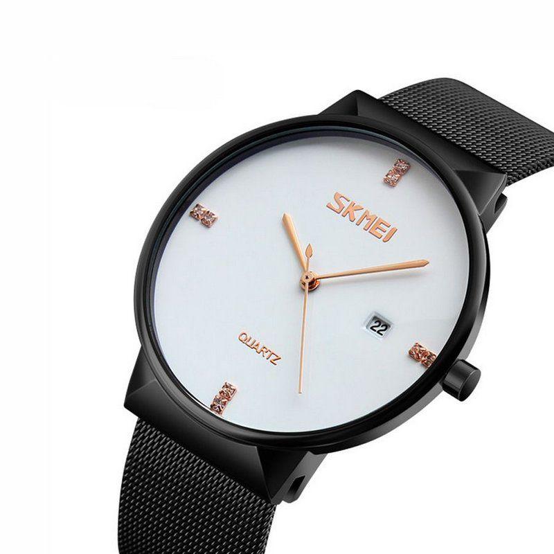 9d4a21e89d4 Relógio Feminino Skmei Analógico 9164 Preto e Branco - ShopDesconto ...