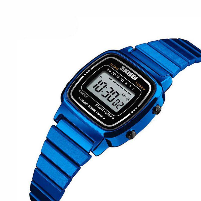 86a1d224a79 Relógio Feminino Skmei Digital 1252 Azul - ShopDesconto - Aqui você ...